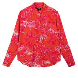 Alix The Label Ladies Woven Tropical Oversized Blouse