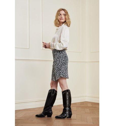 Fabienne Chapot Jessy Short Skirt Black Emerald