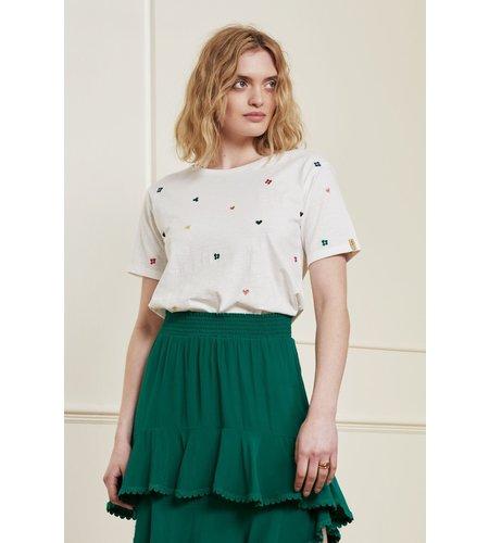 Fabienne Chapot Phil Love Cloud T Shirt Cream White