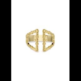 Mya Bay Ring Double Triangle