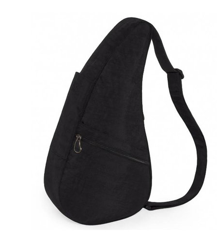 Healthy Back Bag Textured Nylon Medium  Black 6304 Black