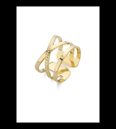 Mya Bay Ring Brooklyn Gold