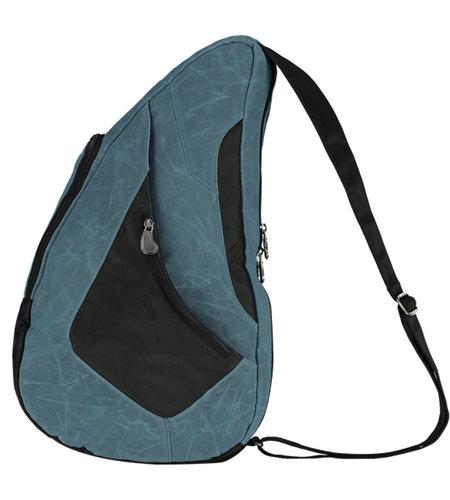 Healthy Back Bag Waxed Canvas 83714-VO Medium  Grey Blue