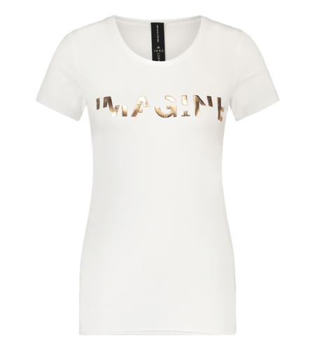 Jane Lushka Organic T Shirt White
