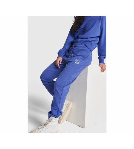 Alix The Label Ladies Knitted Alix Sweat Pants Blue Purple