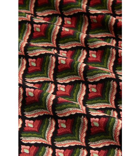 King Louie Border Skirt Residence Berry Red