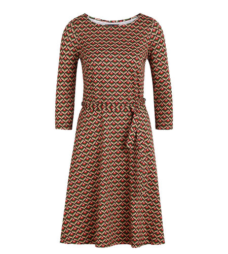 King Louie Betty Dress Residence Berry Red