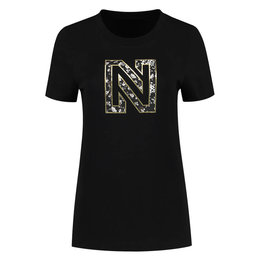 NIKKIE NIKKIE Flower Logo T Shirt