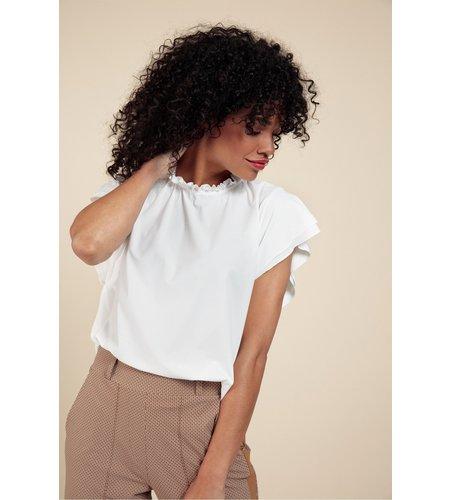 Studio Anneloes Tirsa Shirt Off White