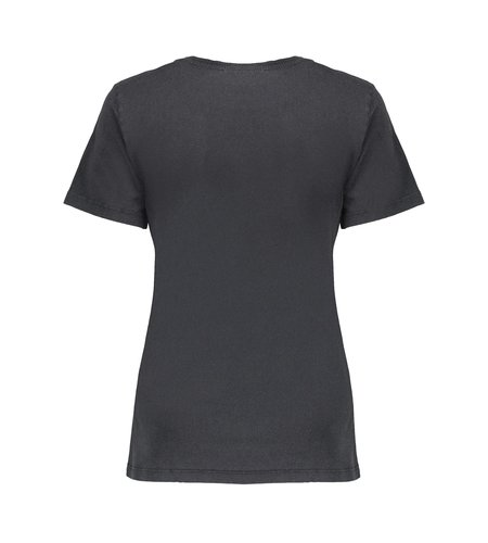 Geisha T Shirt Wild Journey Acid Dye 12534-24 Anthracite