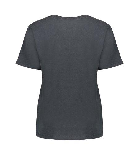 Geisha T Shirt Acid Wash 12517-30 Anthracite Camel
