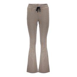 Geisha Pants Flair Pied De Poule 11560-21