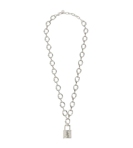NIKKIE Penny Necklace Silver