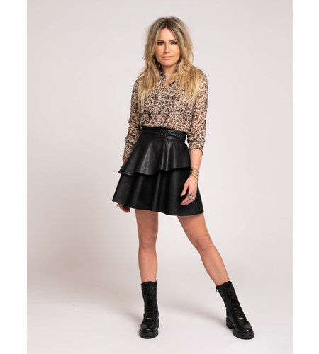 NIKKIE Marlin Skirt Black