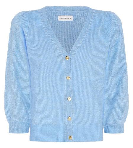 Fabienne Chapot Sally Cardigan Sleeve Sky Blue