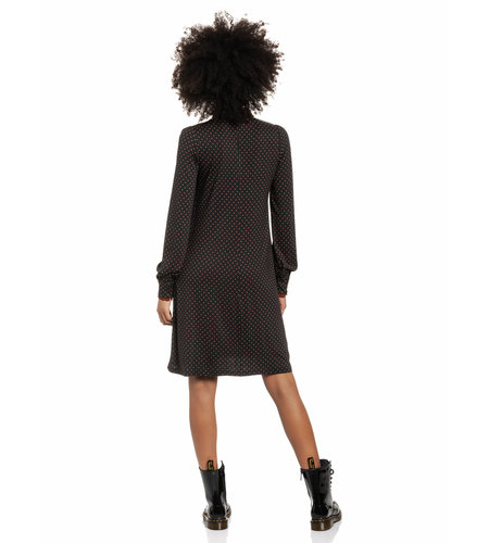 Vive Maria Harvest Day Dress Darkblue Allover