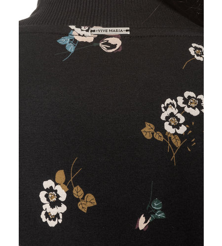 Vive Maria Floral Sport Blouson Black Allover