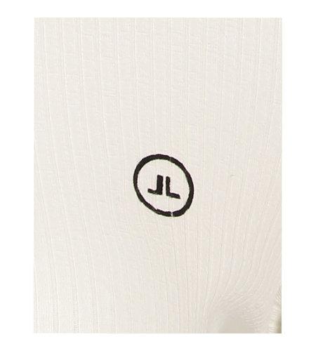 Jane Lushka Organic Rips Top White