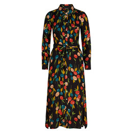 King Louie Olive Dress Maxi Rosy Lee