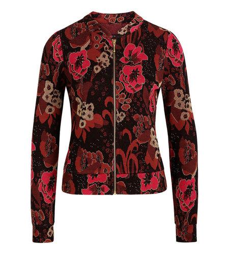 King Louie Iris Jacket Bloomsbury Black