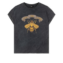 Alix The Label Knitted Boxy Bee T shirt