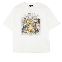 Alix The Label Knitted Oversized Tiger T Shirt