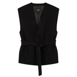Alix The Label Woven Houndstooth Waistcoat