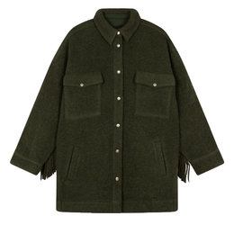 Alix The Label Woven Felted Wool Jacket
