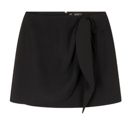 Alix The Label Woven Fake Wrap Skirt