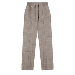 Alix The Label Woven Check Pants
