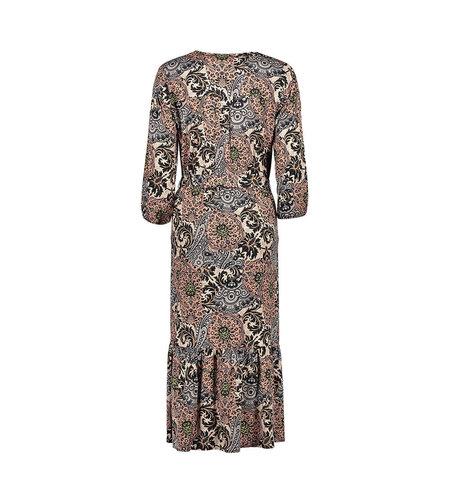 Geisha Dress 17610-20 Old Pink Grey Combi