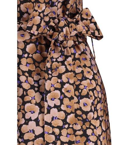 Studio Anneloes Miah Flower Dress Black Lila