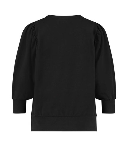 Studio Anneloes Alois Solid Sweater Black
