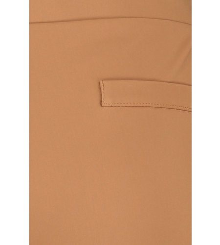 Studio Anneloes Kate Bonded Trousers Caramel