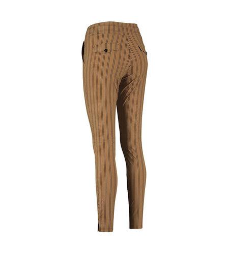 Studio Anneloes Downstairs Stripe Trousers Caramel Black