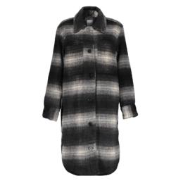 Geisha Jacket Long Blouse Check 18580-19