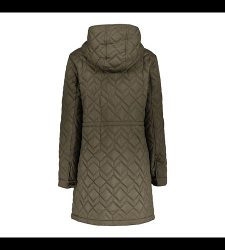 Geisha Combi Jacket Coat 18551-21 Camel Army