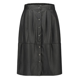 Jane Lushka Leather Skirt Viki