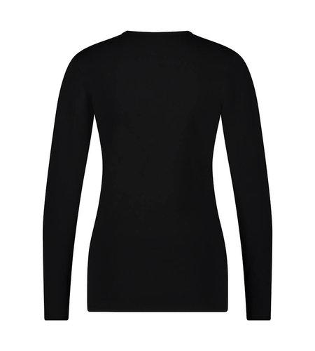 Jane Lushka Organic T Shirt Long Sleeve Black