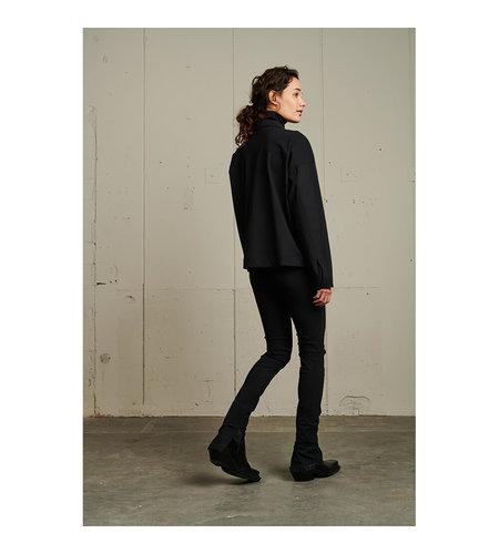 Jane Lushka Organic Slim Top Black
