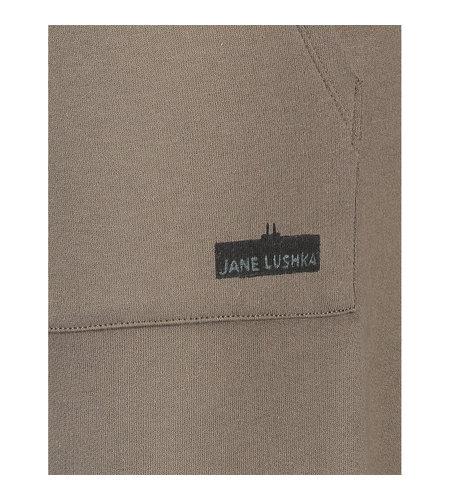 Jane Lushka Jogger Logo Vintage Old Green