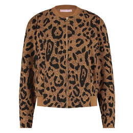 Studio Anneloes Belle All Over Print Sweat Bomber