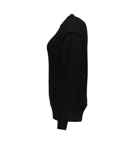 Geisha Pullover Shoulderwing 14540-29 Black