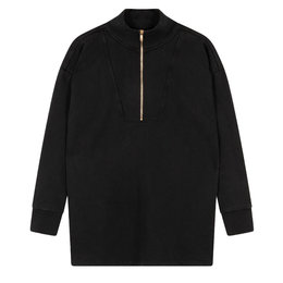Alix The Label Knitted Zipper Collar Sweater