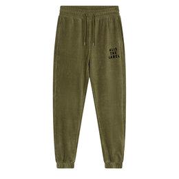 Alix The Label Knitted Rib Velvet Pants