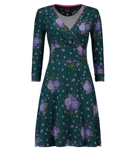Tante Betsy Dress Swirley Kunterbunt Green