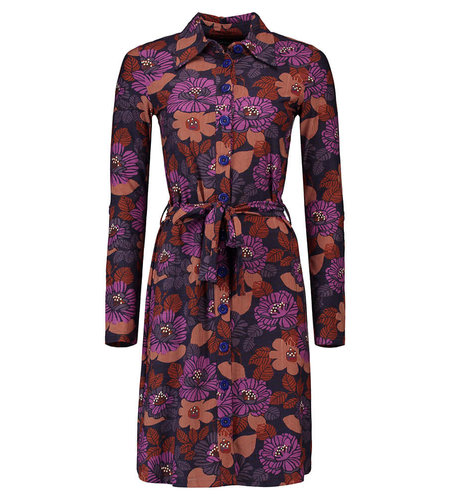Tante Betsy Shirtdress Forest Purple