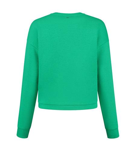 NIKKIE NIKKIE Drawstring Sweater Kryptonite