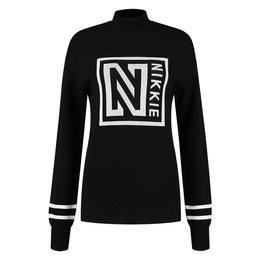 NIKKIE Logo Patch Sweater