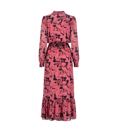 Fifth House Sierra Maxi Dress Corsage Rouge